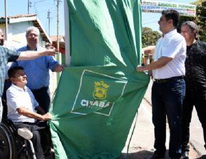 Emanuel entrega 3 km de asfalto recapeado aos moradores do Distrito da Guia (Crédito: Reprodução)