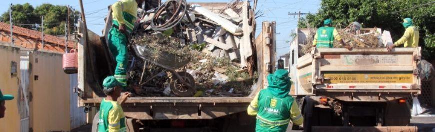 Dom Aquino recebe nova edição do programa Mutirão da Limpeza (Crédito: Reprodução)