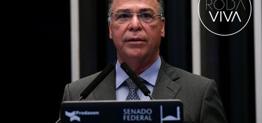 Fernando Bezerra Coelho é o entrevistado do Roda Viva da próxima segunda-feira (10) (Crédito: REPRODUÇÃO)