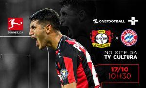 Site da TV Cultura transmite Bayern Leverkusen x Bayern de Munique neste domingo (Crédito: Reprodução)