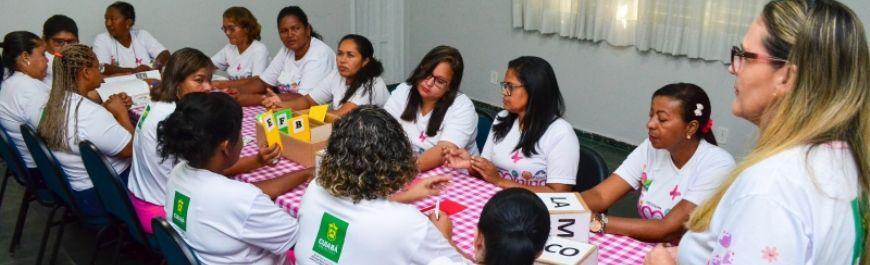 Profissionais do Siminina participaram da primeira capacitação de 2019 (Crédito: Reprodução)