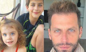 Henri Castelli posta foto dos filhos e olhos azuis se destacam (Crédito: Reprodução)