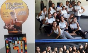 Meninas de Novo Horizonte dão show em festival de dança em Sorriso (Crédito: Reprodução)