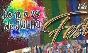Tradicional Festança de Vila Bela terá início nesta quarta-feira (Crédito: Reprodução)