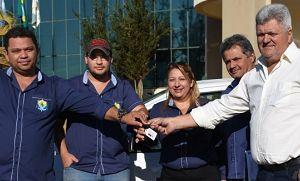 Conselho Tutelar de Campos de Júlio é beneficiado com carro 0km (Crédito: Reprodução)