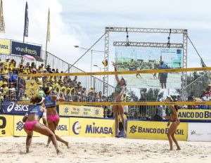 Ginásio Aecim Tocantins recebe Circuito Brasileiro de Vôlei de Praia (Crédito: Reprodução)