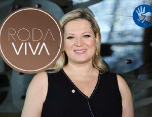 Joice Hasselmann participa do Roda Viva na segunda-feira (21/10) (Crédito: Divulgalção)