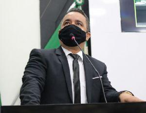 """""""Não fui eleito para trazer conflito"""", afirma Marcrean ao pregar harmonia dentro da Câmara (Crédito: REPRODUÇÃO)"""