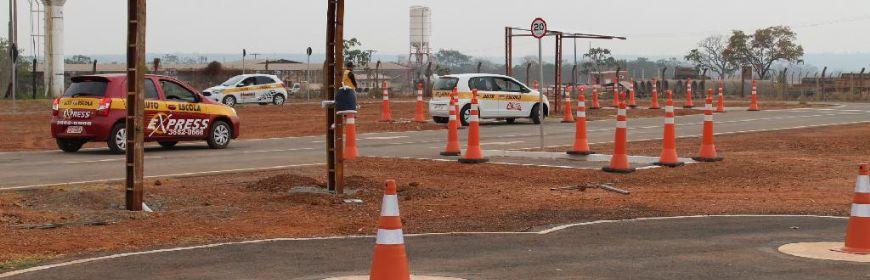 Detran-MT inaugura pista de testes no bairro Chapéu do Sol (Crédito: Reprodução)
