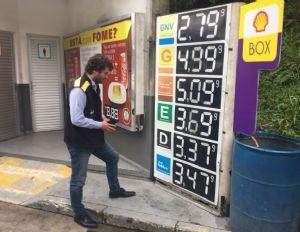 Bolsonaro quer investigar aumento abusivo em postos de combustível (Crédito: Reprodução)