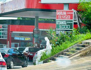 Preço do etanol começa a cair em alguns postos da Grande Cuiabá (Crédito: Reprodução)