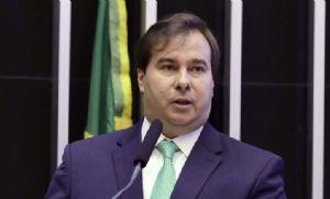 Maia avalia se Câmara analisará em conjunto propostas de Moro e Moraes sobre combate ao crime (Crédito: Reprodução)