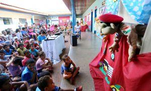 Guarda Municipal integra ação da PRF Contra o Câncer Infantil (Crédito: Reprodução)