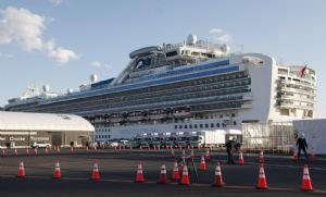 Navio cruzeiro em quarentena no Japão tem 88 novos casos de coronavírus (Crédito: Reprodução)