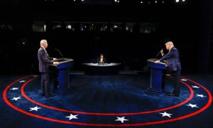 Trump moderado e Biden desafiador dificilmente mudarão rumo da eleição (Crédito: Reprodução)