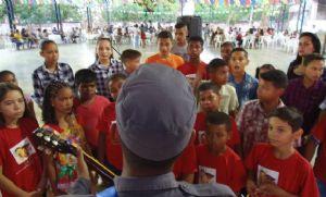 Projeto de música da PM atende mais de 80 crianças e reforça ações preventivas (Crédito: Reprodução)