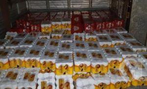 Criminosos assaltam caminhão de cerveja e levam carga de R$ 110 mil (Crédito: Reprodução)