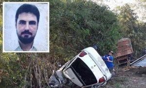 Oficial de justiça morre ao colidir carro com caminhão em Cáceres (Crédito: Reprodução)