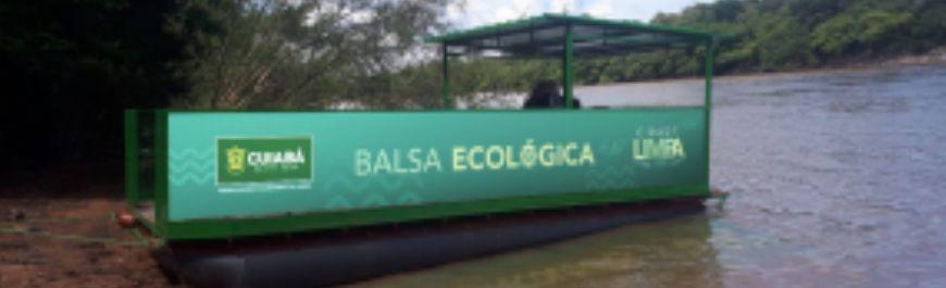 Cuiabá avança no sistema de coleta de lixo com a chegada da Balsa Ecológica (Crédito: Reprodução)