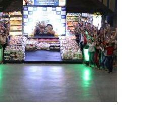 Campanha arrecada mais de cinco toneladas de alimentos (Crédito: Reprodução)