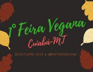 Feira de rua 100% vegana acontece esse mês em Cuiabá (Crédito: Reprodução)