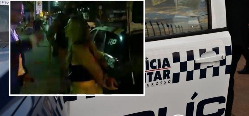 Associação consegue psiquiatra para tratar jornalista detida duas vezes na Praça Popular (Crédito: REPRODUÇÃO)