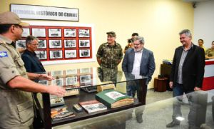 Corpo de Bombeiros comemora 55 anos com inauguração de Memorial Histórico (Crédito: Reprodução)