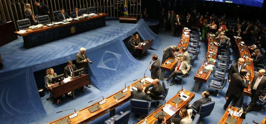 Senado aprova pacote anticrime (Crédito: Reprodução)