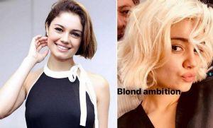 Sophia Charlotte muda radicalmente o visual e surge loirissima