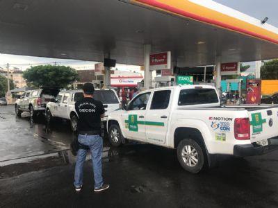 Postos fiscalizados na operação De Olho na Bomba não apresentam irregularidades no combustível