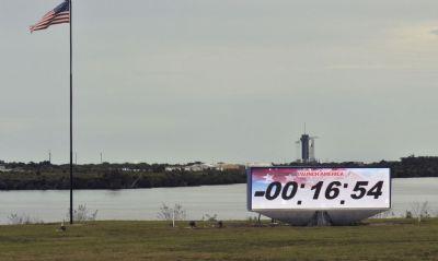 Mau tempo adia lançamento da missão espacial tripulada da SpaceX