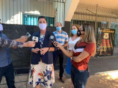 Prefeita denuncia Fake News após publicação acusá-la de entregar cápsulas vazias a pacientes com Covid-19