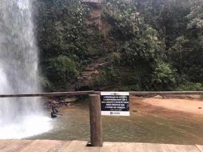 Governo Municipal investe na revitalização do mirante da Cachoeira da Mulata