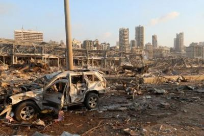 Se explosão de Beirute fosse em Cuiabá, atingiria do Paiaguás a VG