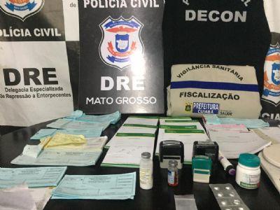 Traficante de anabolizante e comércio de medicamentos controlados é preso na capital