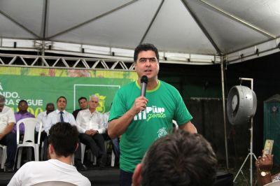 Emanuel entrega pavimento do São Roque e destaca qualidade no serviço prestado
