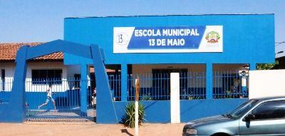 Escola 13 de maio, também é destaque no IDEB do Município.