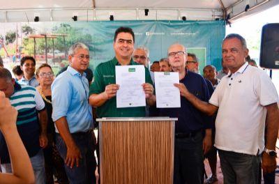 Moradores do bairro São João Del Rey são beneficiados com obras de pavimentação