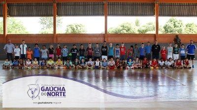 Projeto esportivo beneficia cerca de 120 crianças e adolescentes em Gaúcha do Norte