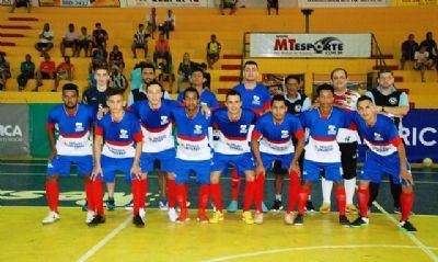Seleção masculina de Futsal de Apiacás é destaque na 2ª fase da Copa Centro América