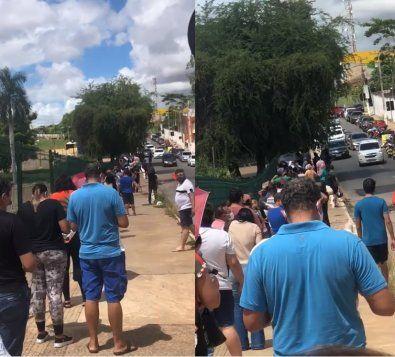 Vídeo mostra fila gigante no Centro de Triagem e expõe caos em Cuiabá