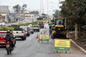 Trecho da avenida das Torres será bloqueada para obras de viadutos