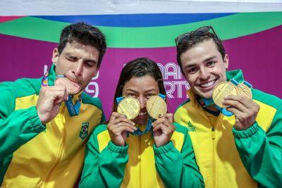 Brasil conquista quatro ouros em dia de mais de 10 medalhas