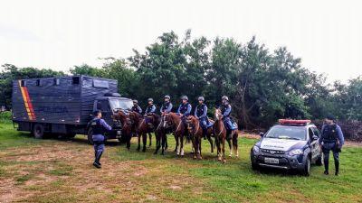 Curso da PM formará novos policiais para Cavalaria