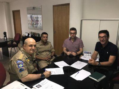 Indea e Corpo de Bombeiros firmam parceria para atuar nos rios de Mato Grosso