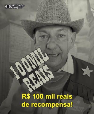 Luciano Hang oferece recompensa por autor de incêndio à estátua da Havan