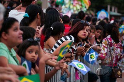 Desfile Cívico da Independência deve contar com 5 mil pessoas em Cuiabá