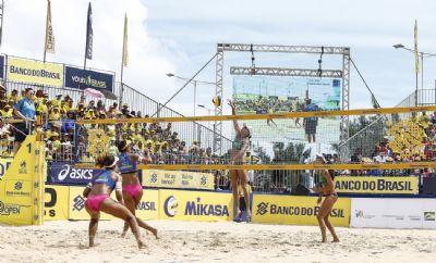 Ginásio Aecim Tocantins recebe Circuito Brasileiro de Vôlei de Praia