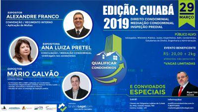 CDL de Cuiabá recebe evento sobre Direito Condominial