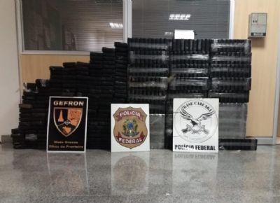 Ação conjunta apreende carga de cocaína avaliada em R$ 7 milhões